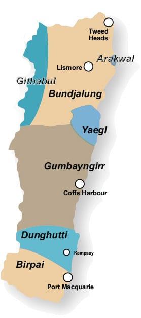 Aboriginal Map