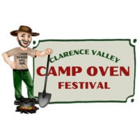 Clarence Camp Oven Festival logo
